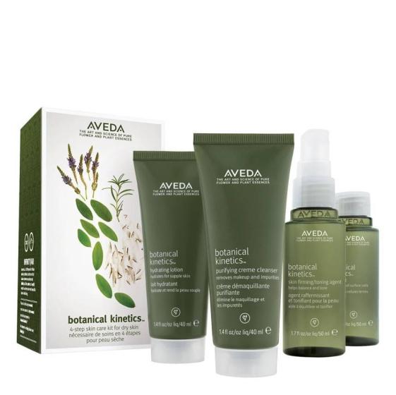 Aveda Botanical Kinetics 4- Step Skin Care Routine