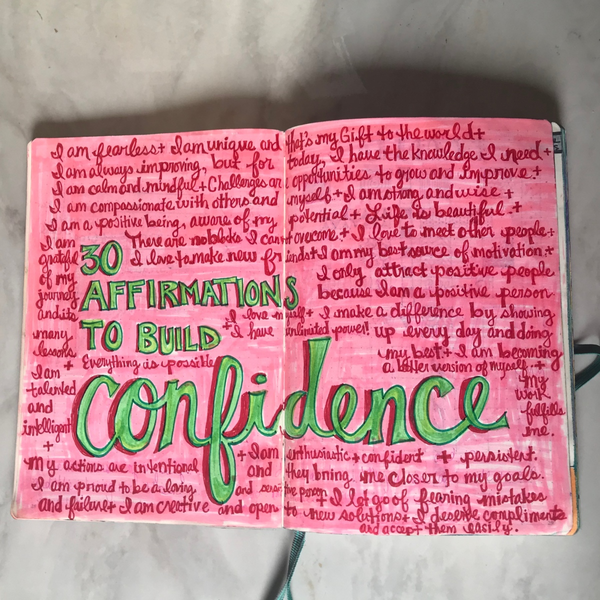 30 Affirmations To Build Confidence